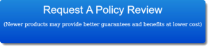 Request A Policy Review button